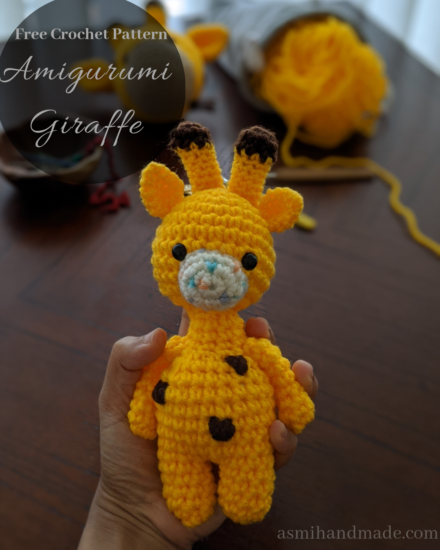 Ravelry: Baby Giraffe Amigurumi pattern by Courtney Deley | 550x440