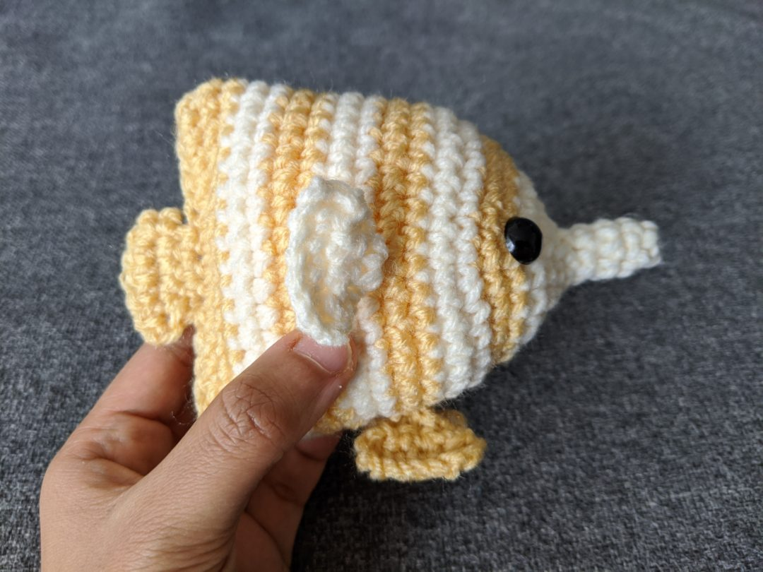 Crochet Amigurumi Butterfly [FREE Crochet Pattern] | 810x1080